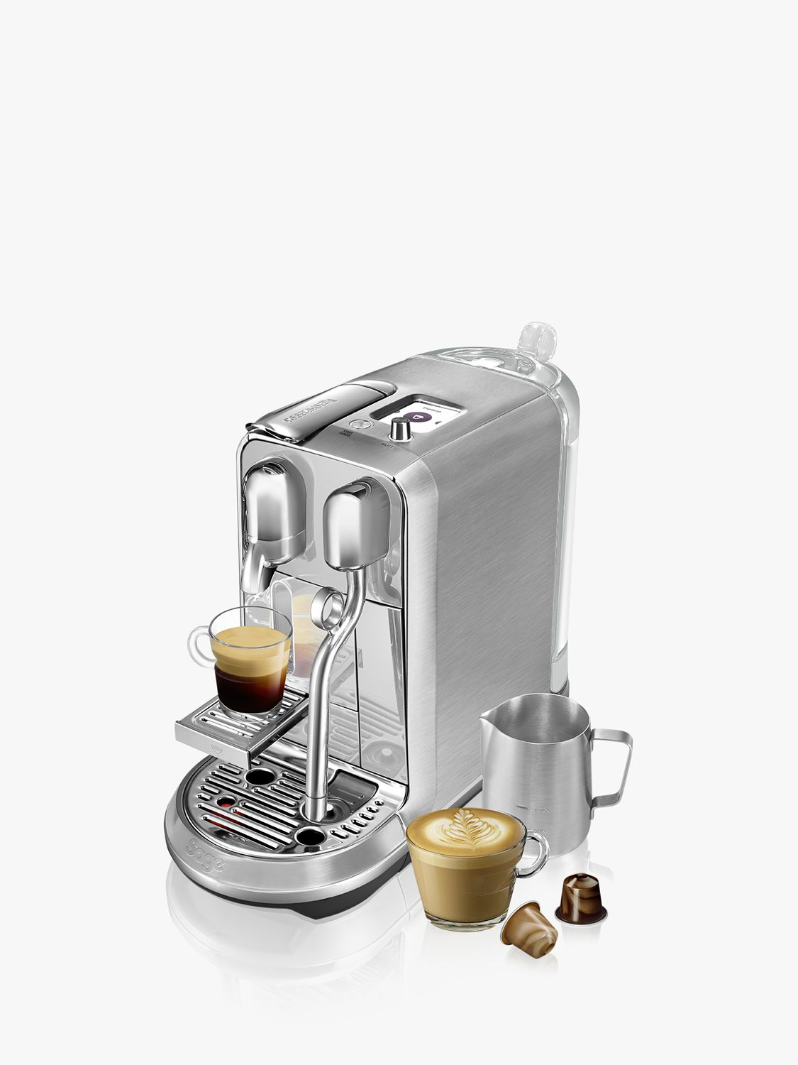 Italian Coffee Maker John Lewis : Buy Nespresso Creatista Plus Coffee Machine by Sage John Lewis